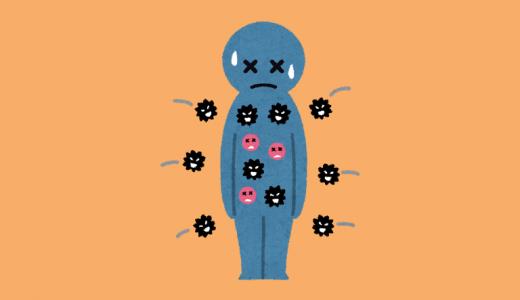 ストレスを負って病気やうつになるまでの三段階