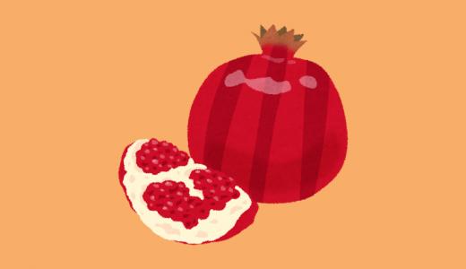 『女性の果実』ザクロには強い抗酸化作用がある!果物でニキビ対策をしよう