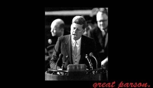 ジョン・F・ケネディの名言・格言一覧